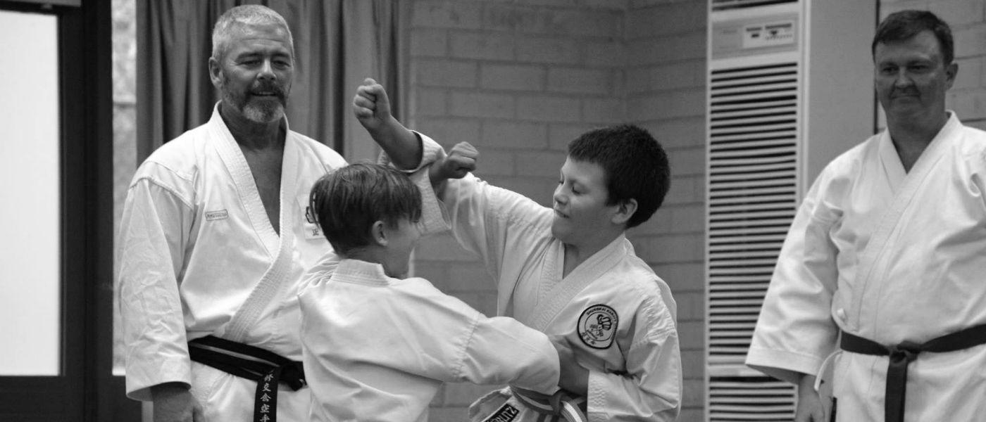 Kids combat karate
